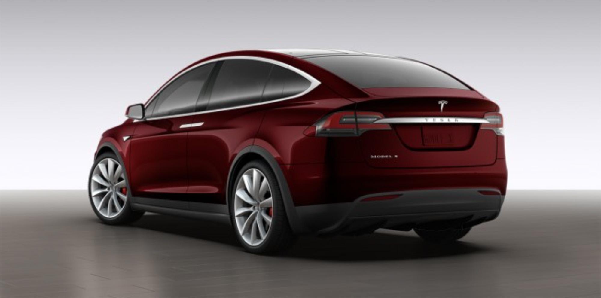 Tesla Model X Revealed Via Online Configurator Photos