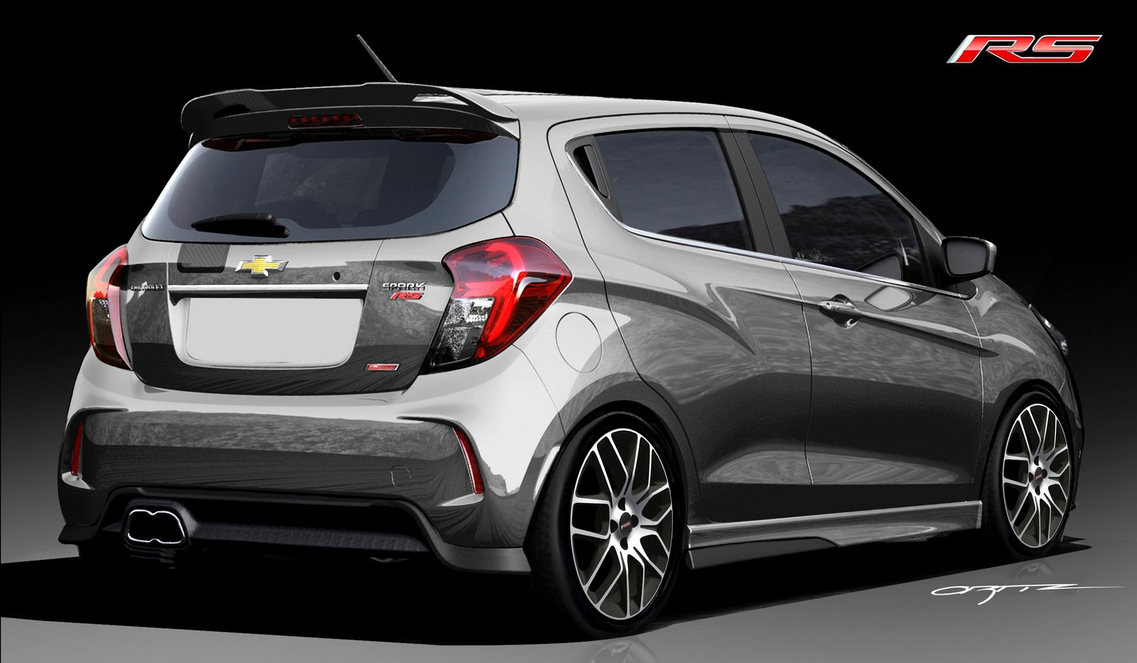 Chevrolet Spark Rs Revealed For Sema Could A Hot Holden
