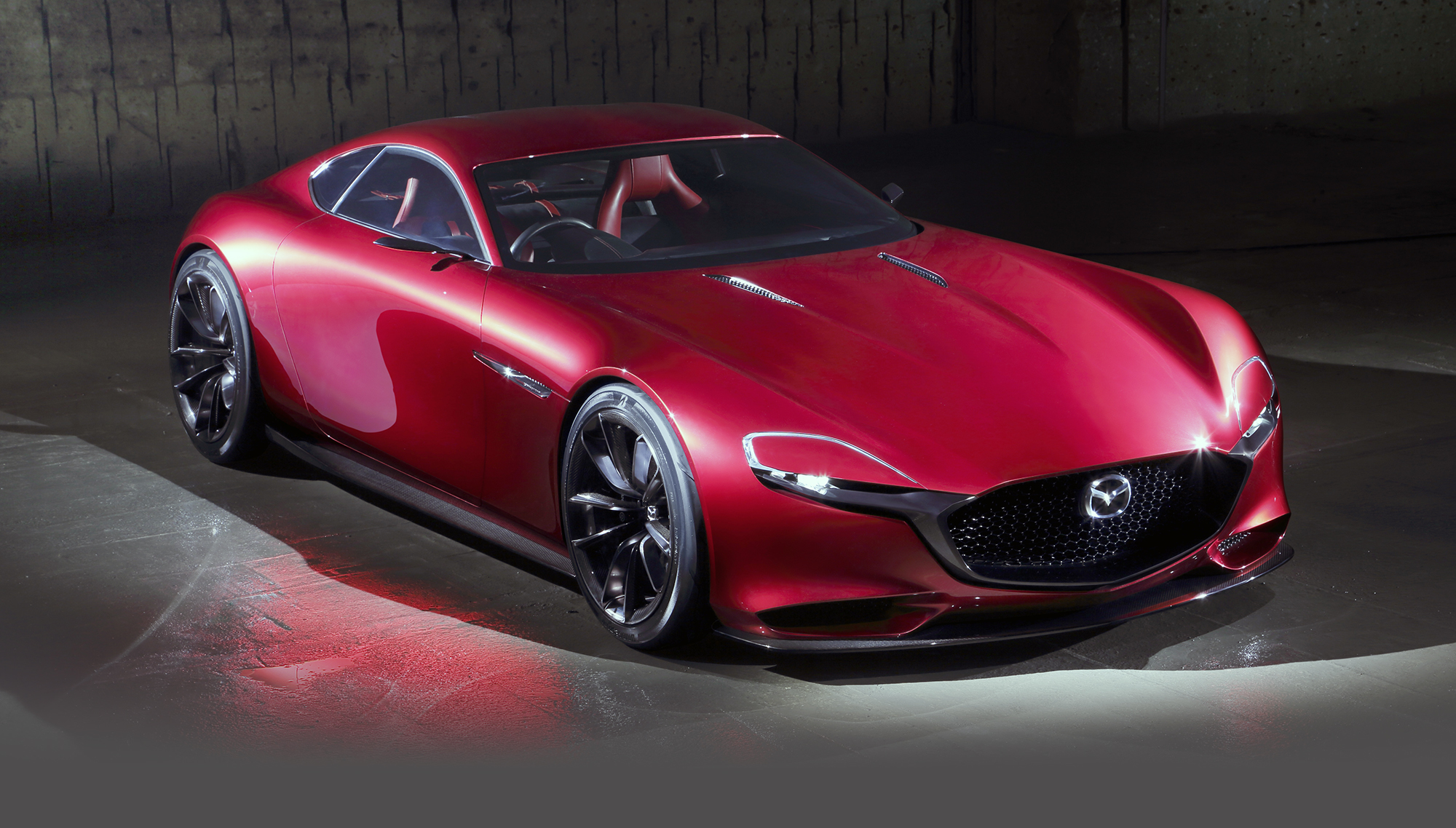 Mazda RX 9 previewed with RX Vision rotary concept at Tokyo motor