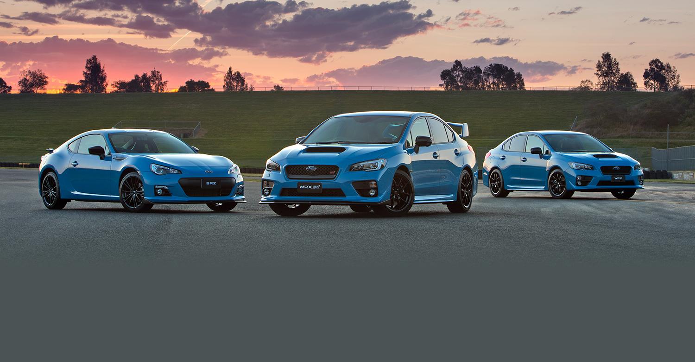 Subaru WRX, WRX STI and BRZ Hyper Blue specials on sale in Australia - photos | CarAdvice