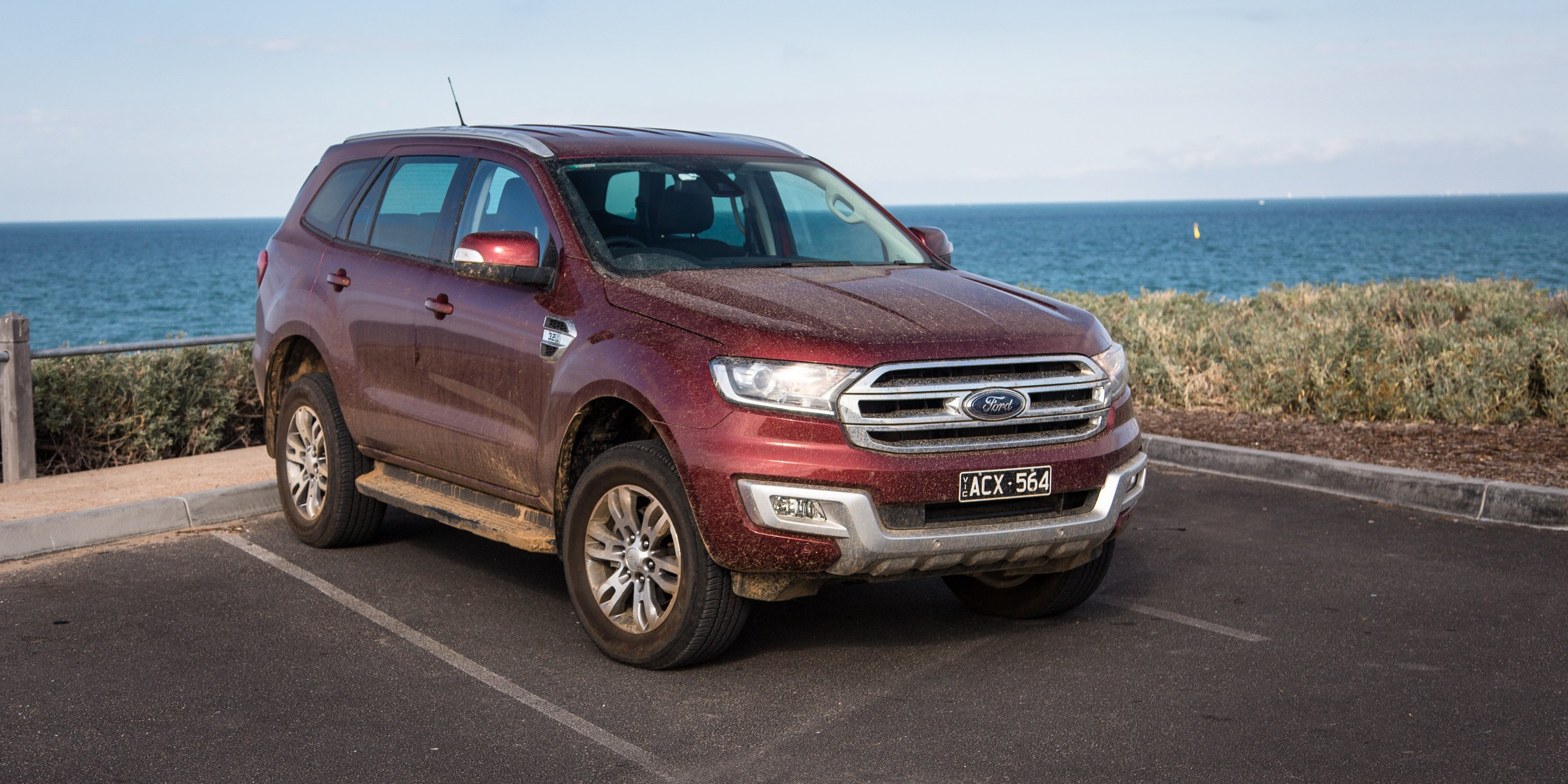 ford everest trend review  caradvice
