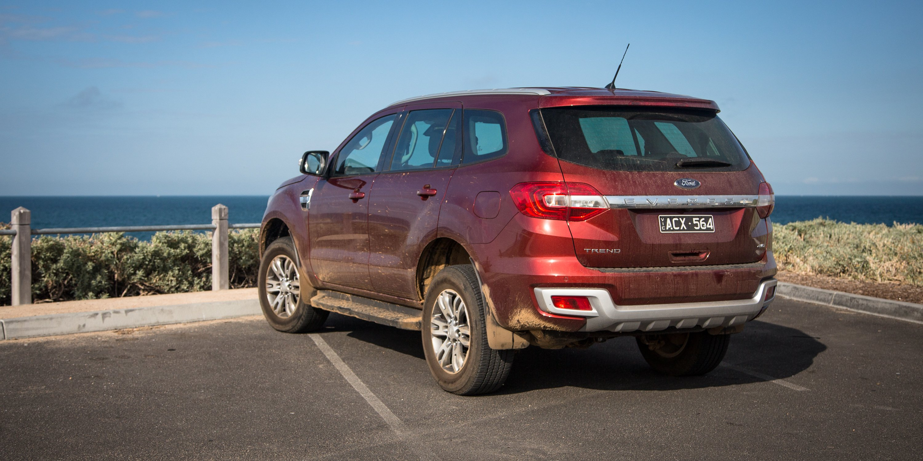 2016 Ford Everest Trend Review Photos Caradvice