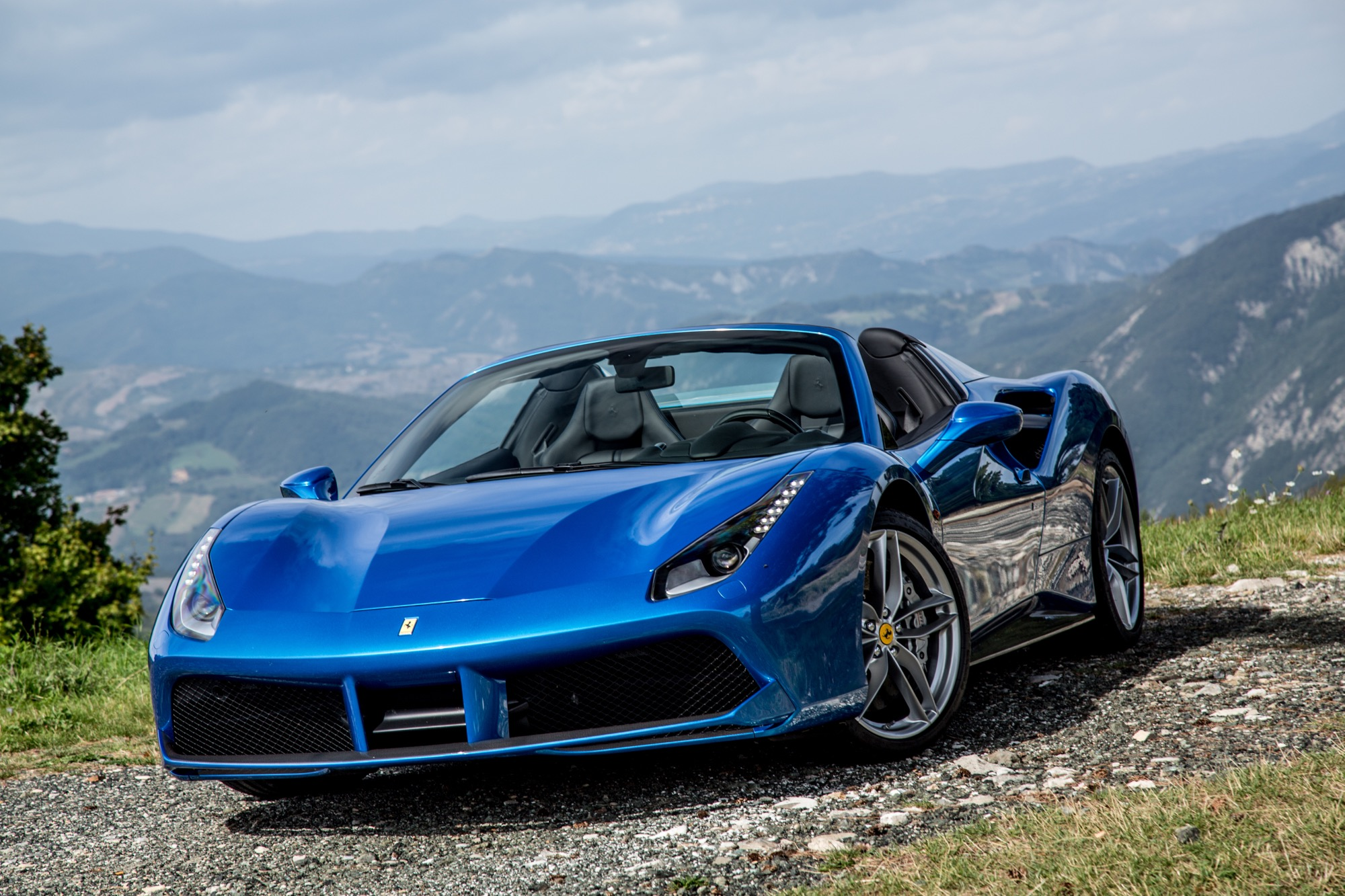 2016 Ferrari 488 Spider Review First Drive Photos