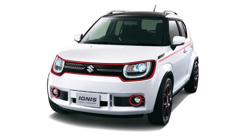Suzuki Concept Cars For 2015 Tokyo Motor Show Revealed Ignis Trail Air Triser