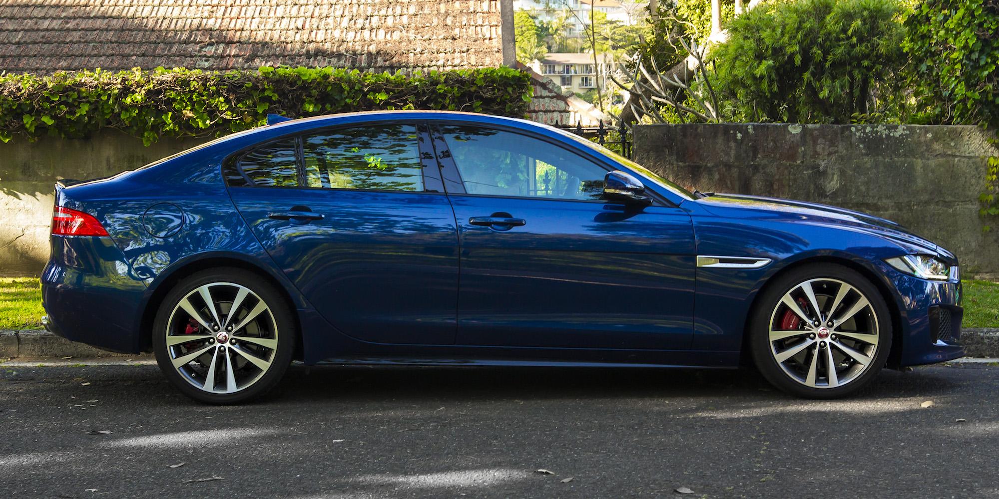 2015 Jaguar XE S Review - photos | CarAdvice