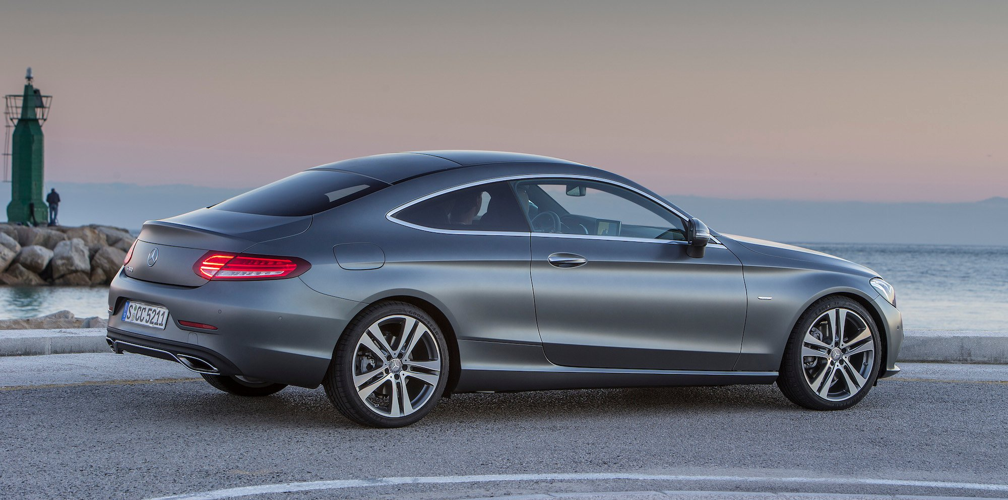 2016 mercedes benz c class coupe review photos caradvice