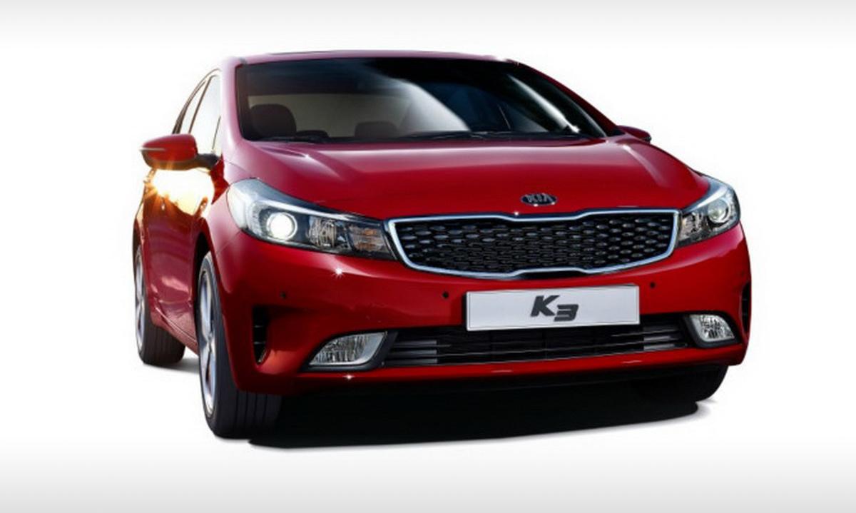 2016 Kia Cerato facelift revealed in Korean 'K3' form ...