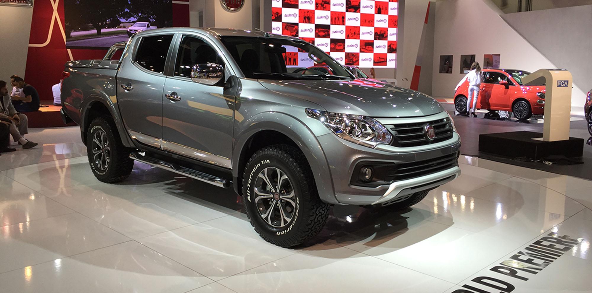 Western Auto Sales >> Fiat Fullback ute unveiled in Dubai - photos | CarAdvice