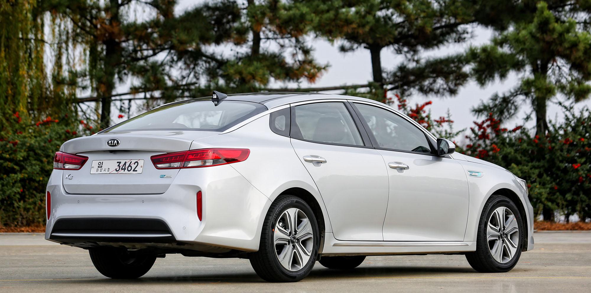 2016 Kia Optima Hybrid revealed, plug-in hybrid detailed ...