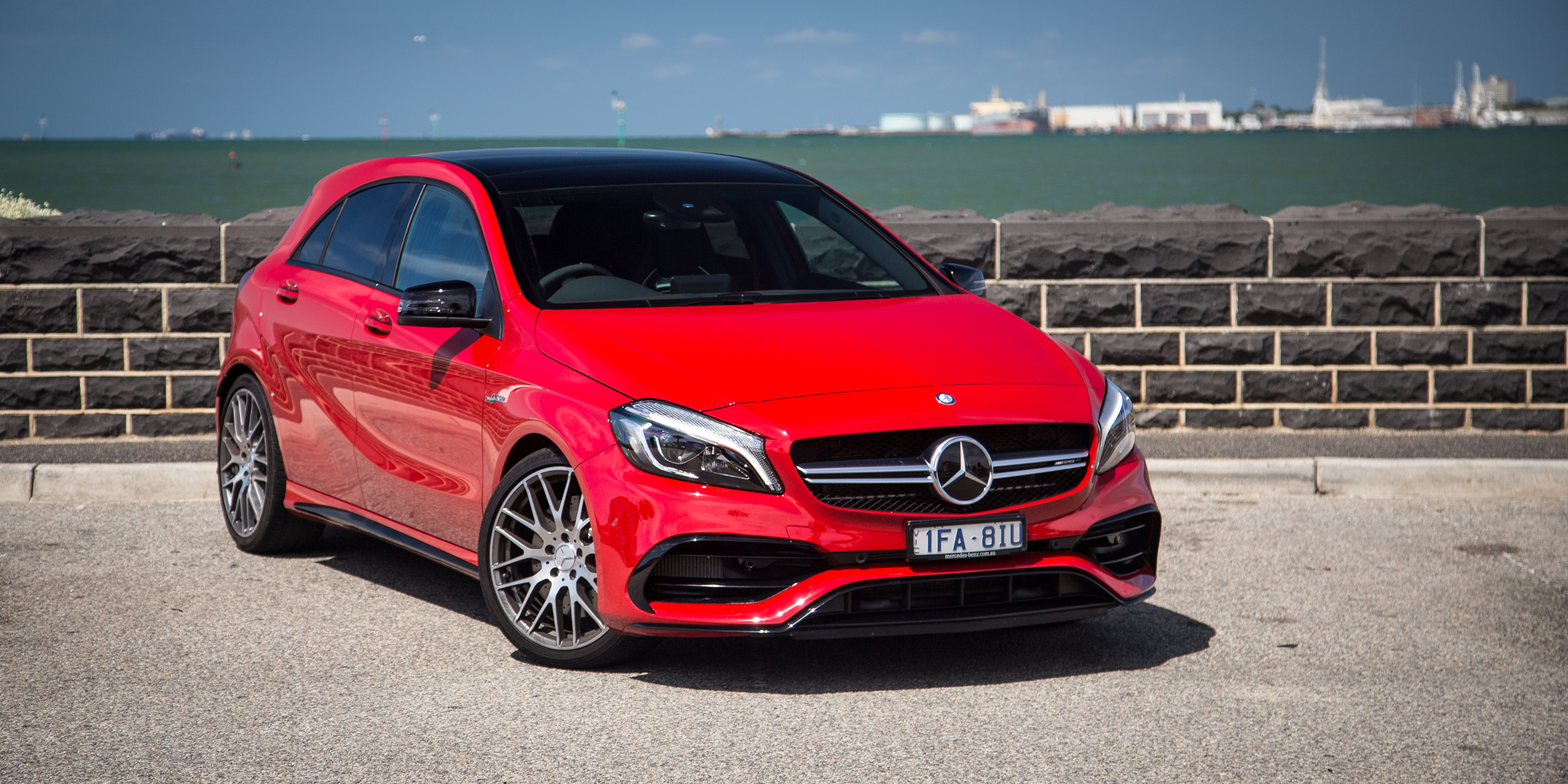 2016 mercedes amg a45 review photos caradvice. Black Bedroom Furniture Sets. Home Design Ideas