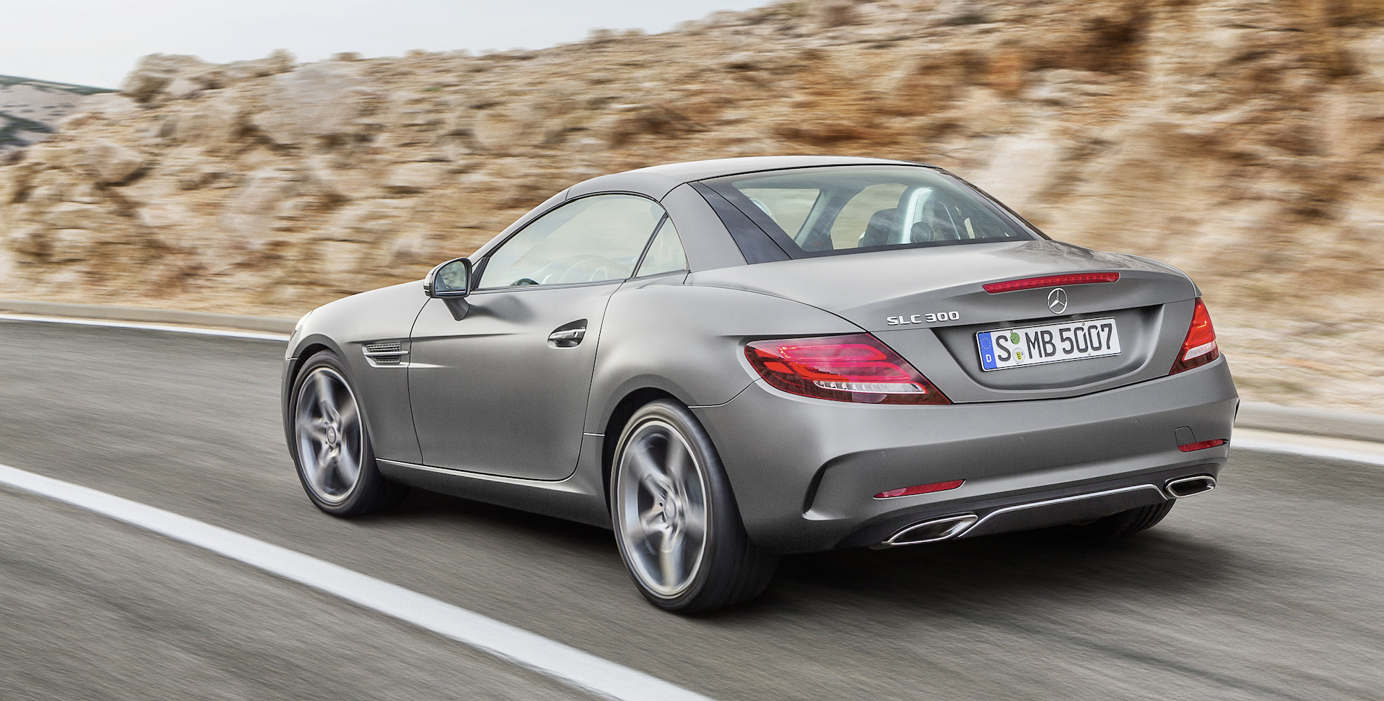 2016 mercedes benz slc revealed mercedes amg slc43 v6 for Slc mercedes benz