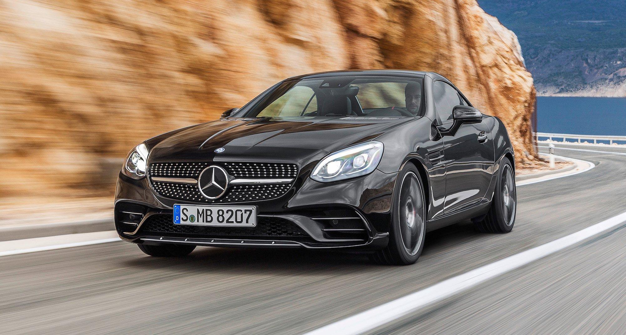 2016 Mercedes Benz Slc Revealed Mercedes Amg Slc43 V6