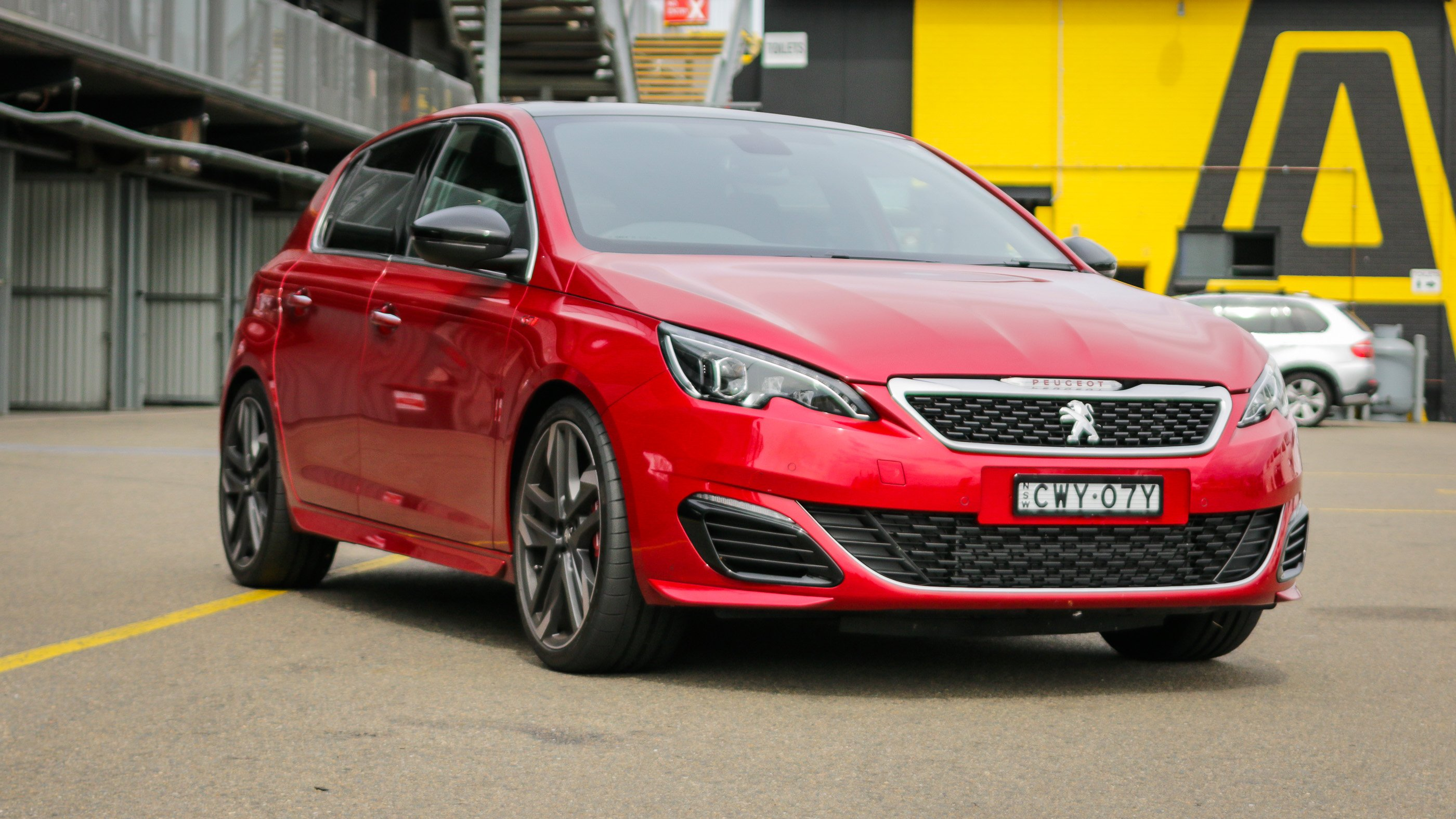 2016 peugeot 308 gti review quick drive photos caradvice. Black Bedroom Furniture Sets. Home Design Ideas