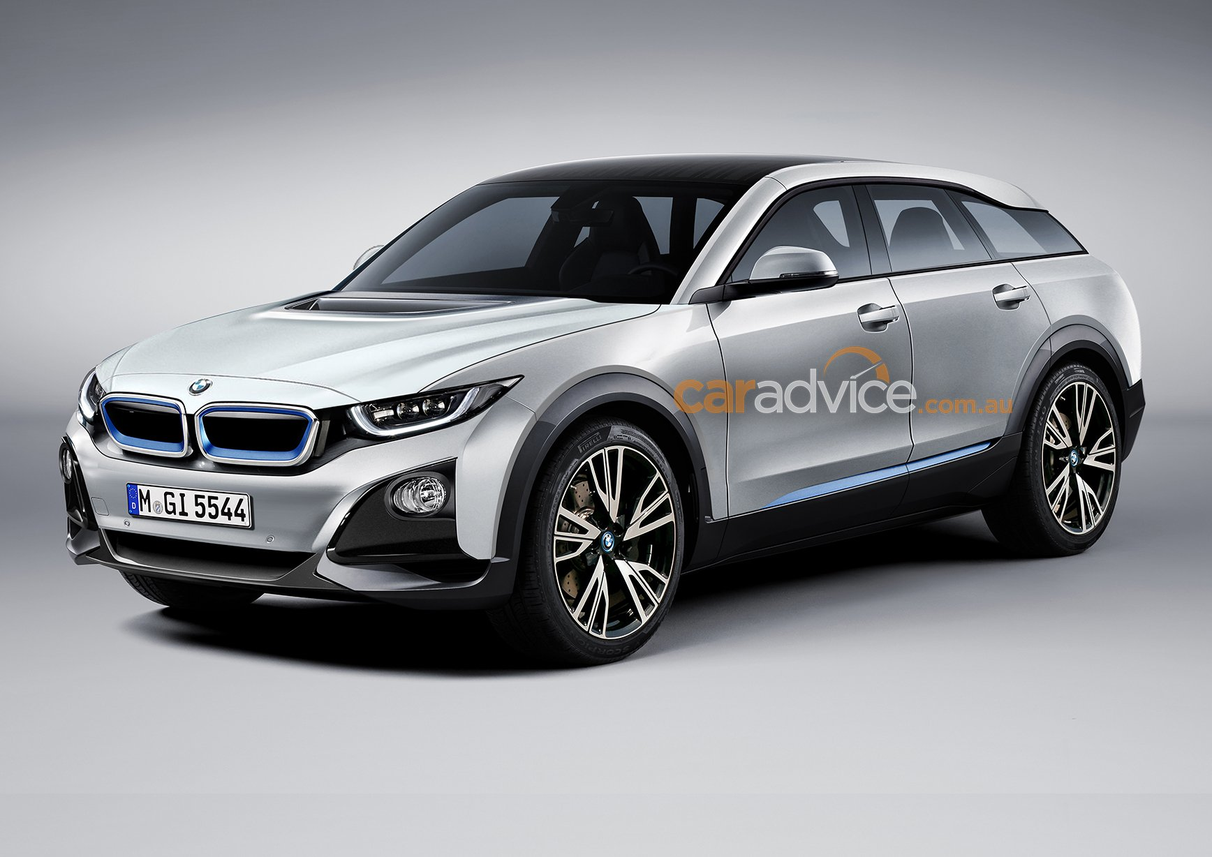 bmw i5 suv rendered will bmw tackle growing electric suv segment photos caradvice. Black Bedroom Furniture Sets. Home Design Ideas