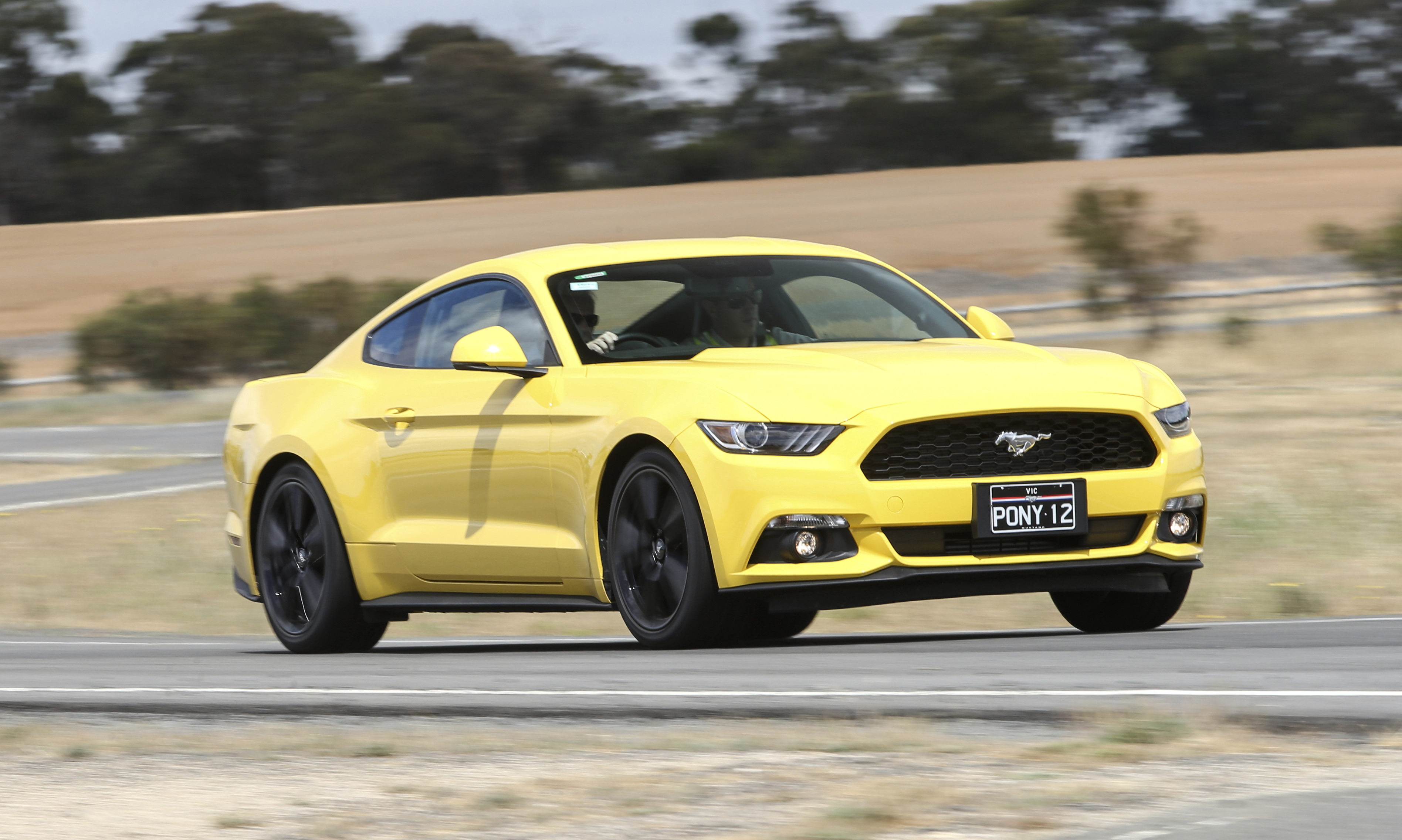 Subaru Models 2015 >> 2016 Ford Mustang Review: EcoBoost coupe quick drive ...