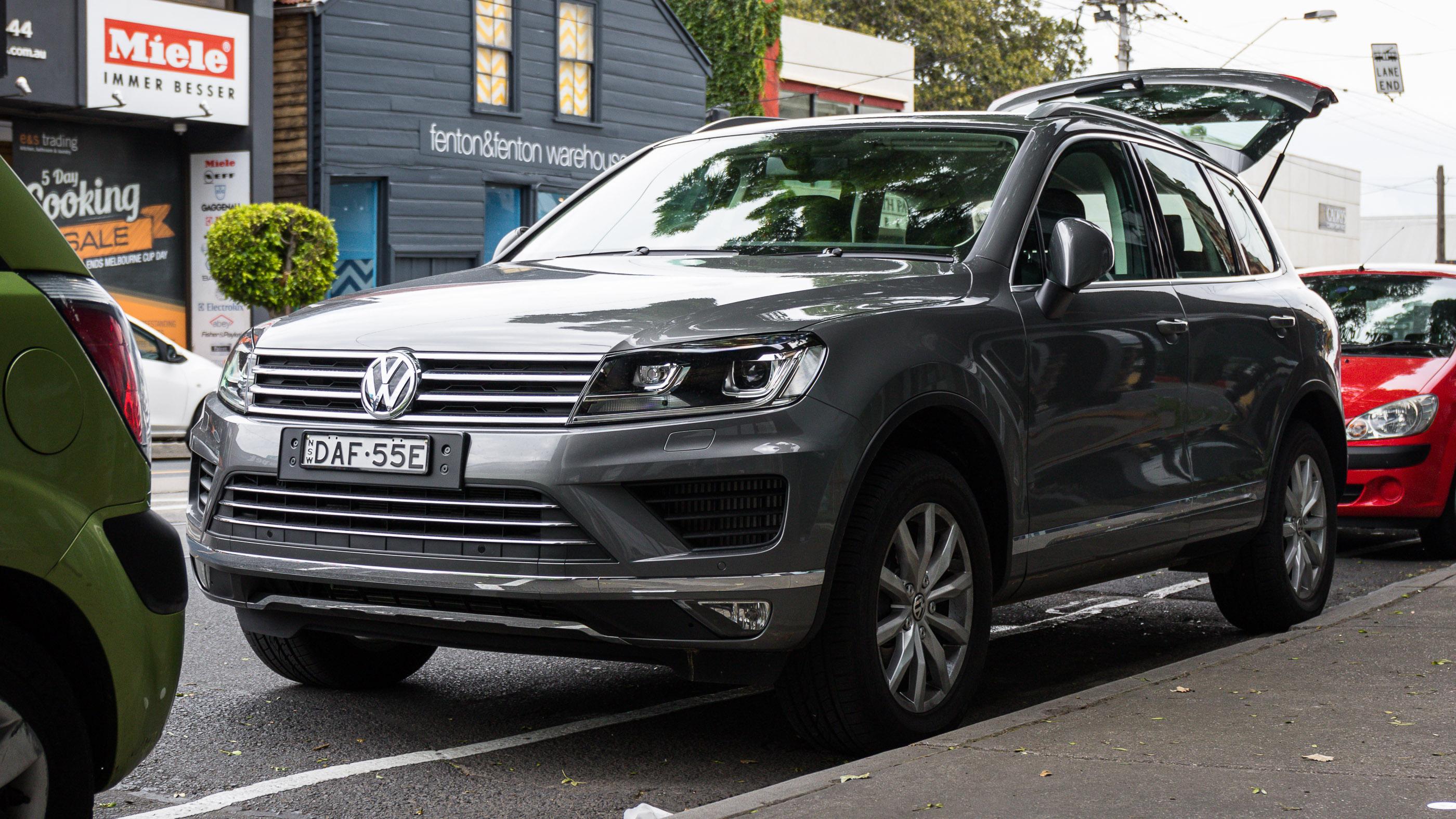 Volkswagen Touareg V Tdi