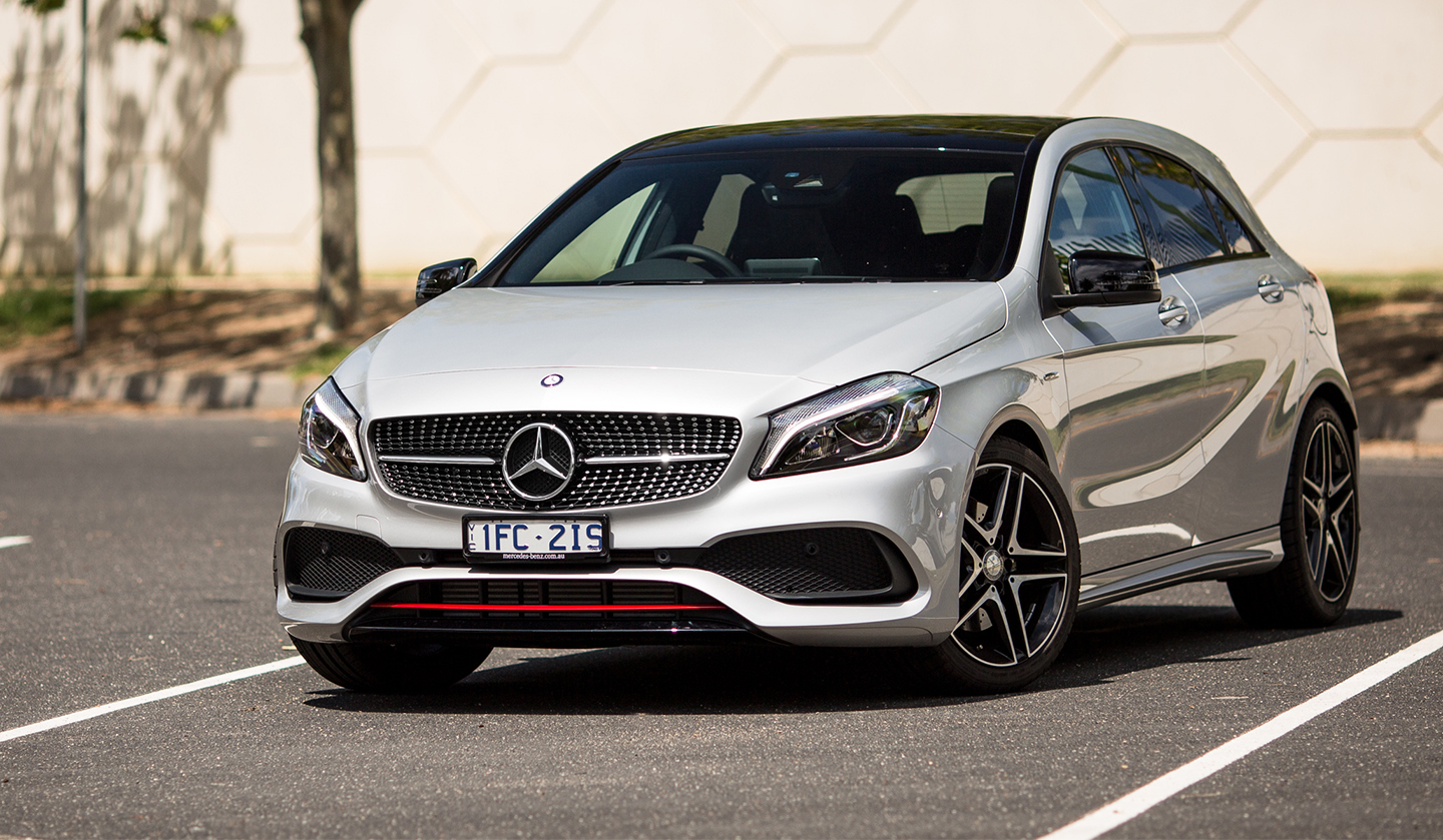 2016 mercedes benz a class review photos caradvice for Pictures of a mercedes benz