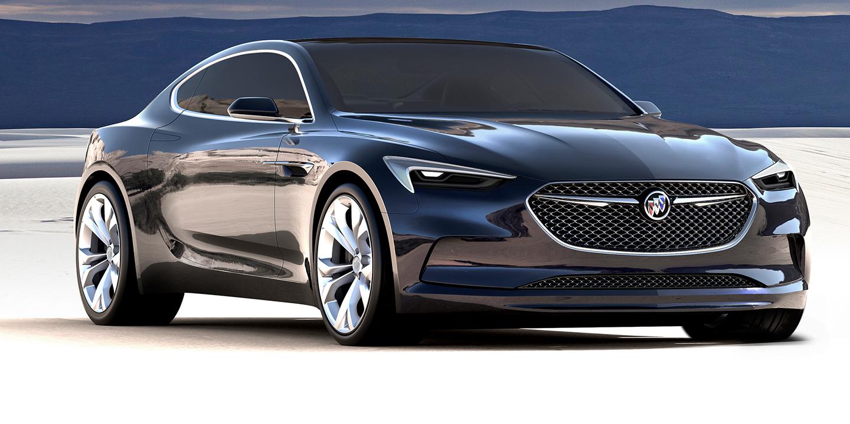 Buick Avista concept could preview new Holden Monaro - photos   CarAdvice