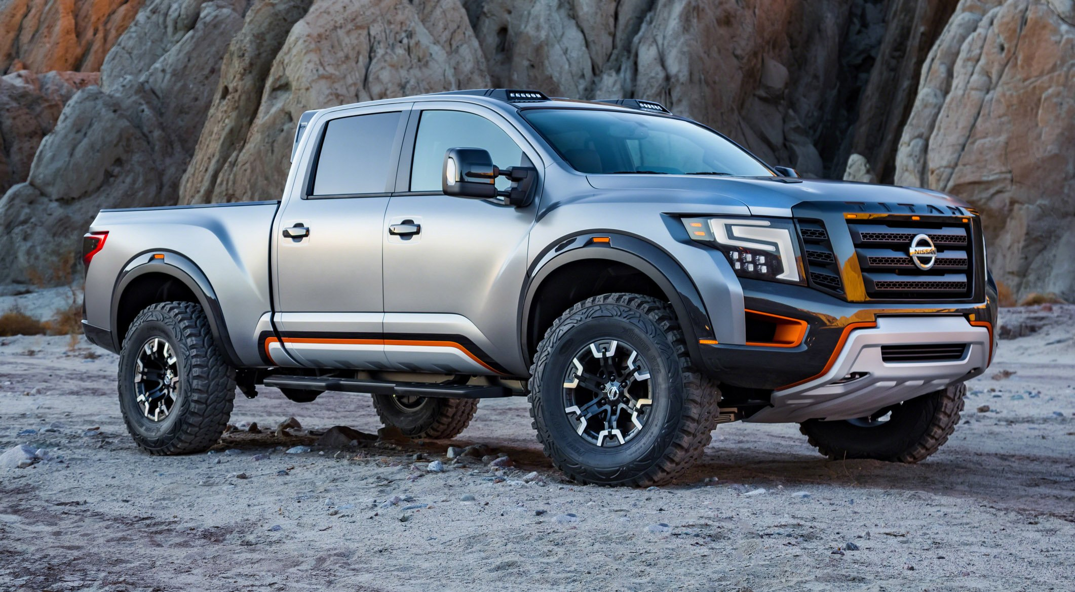 Nissan Titan Warrior Pickup Revives Baja Vibes For Detroit