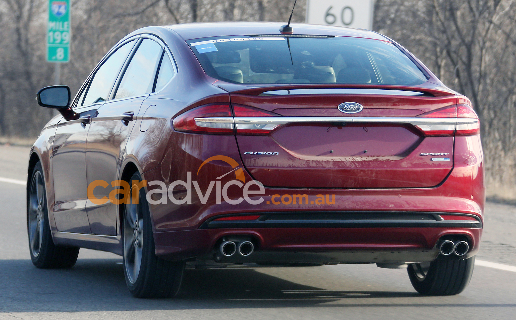 2017 Ford Mondeo Sport spied without disguise: Turbo V6 ...