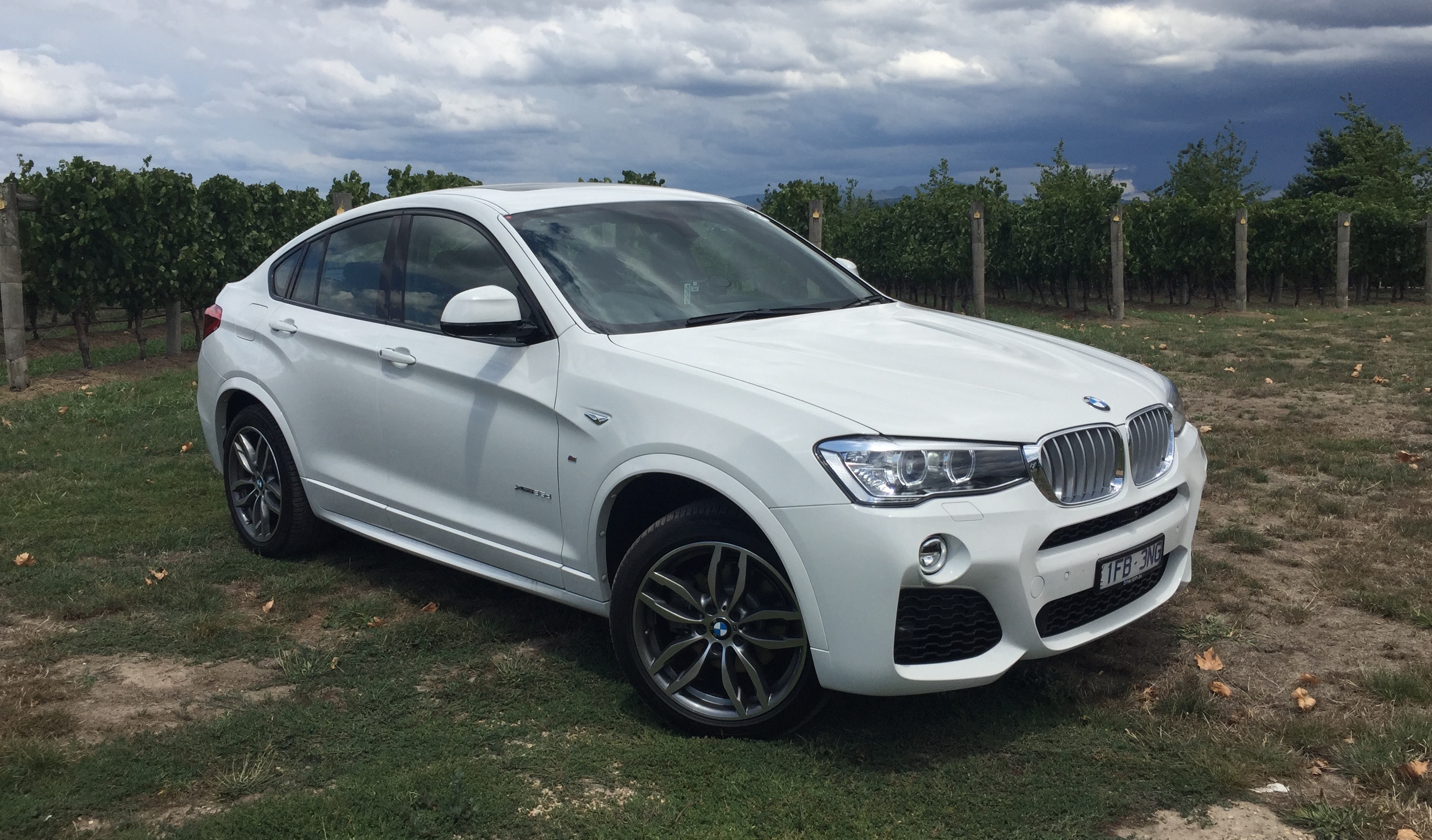 2016 Bmw X4 Xdrive35d Review Photos Caradvice
