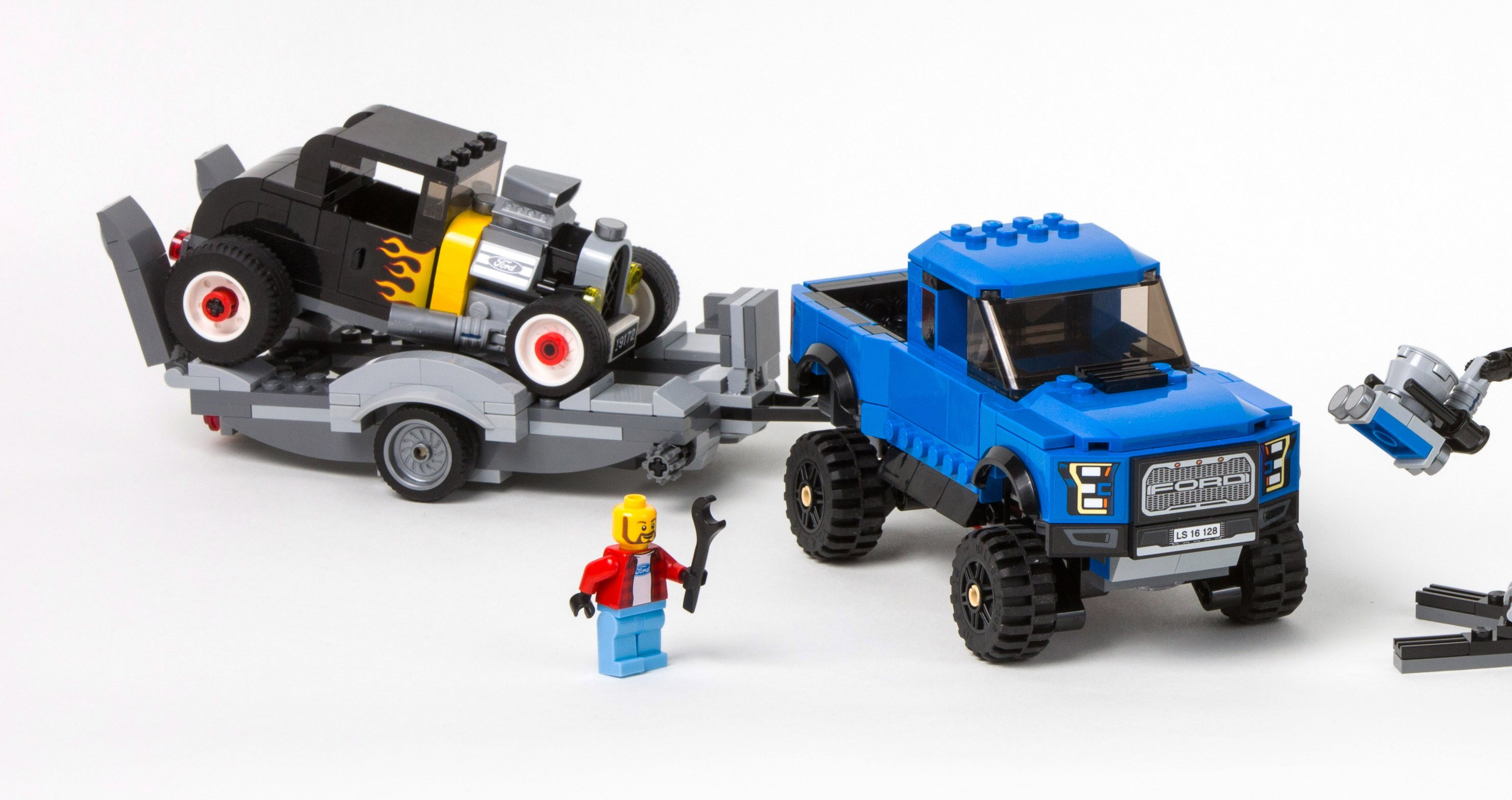 ford mustang and raptor to join lego speed champions. Black Bedroom Furniture Sets. Home Design Ideas