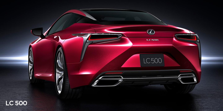 Lexus LC500 vs Lexus LF-LC Concept: Styling Faceoff ...