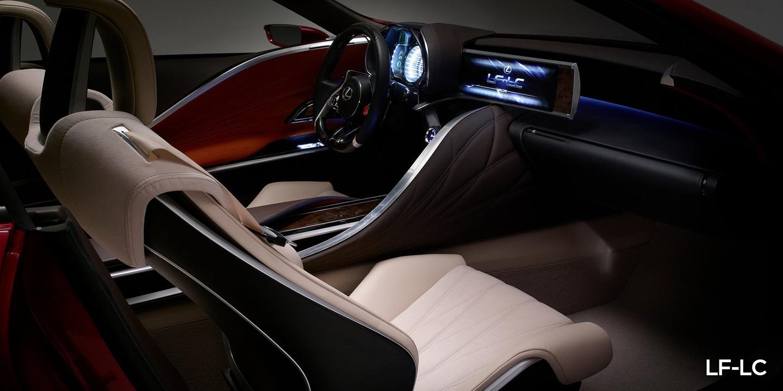 Lexus LF-LC hybrid sports coupe concept at Detroit ...