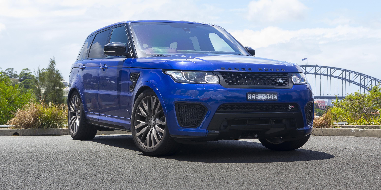 2016 Range Rover Sport SVR Review - photos | CarAdvice