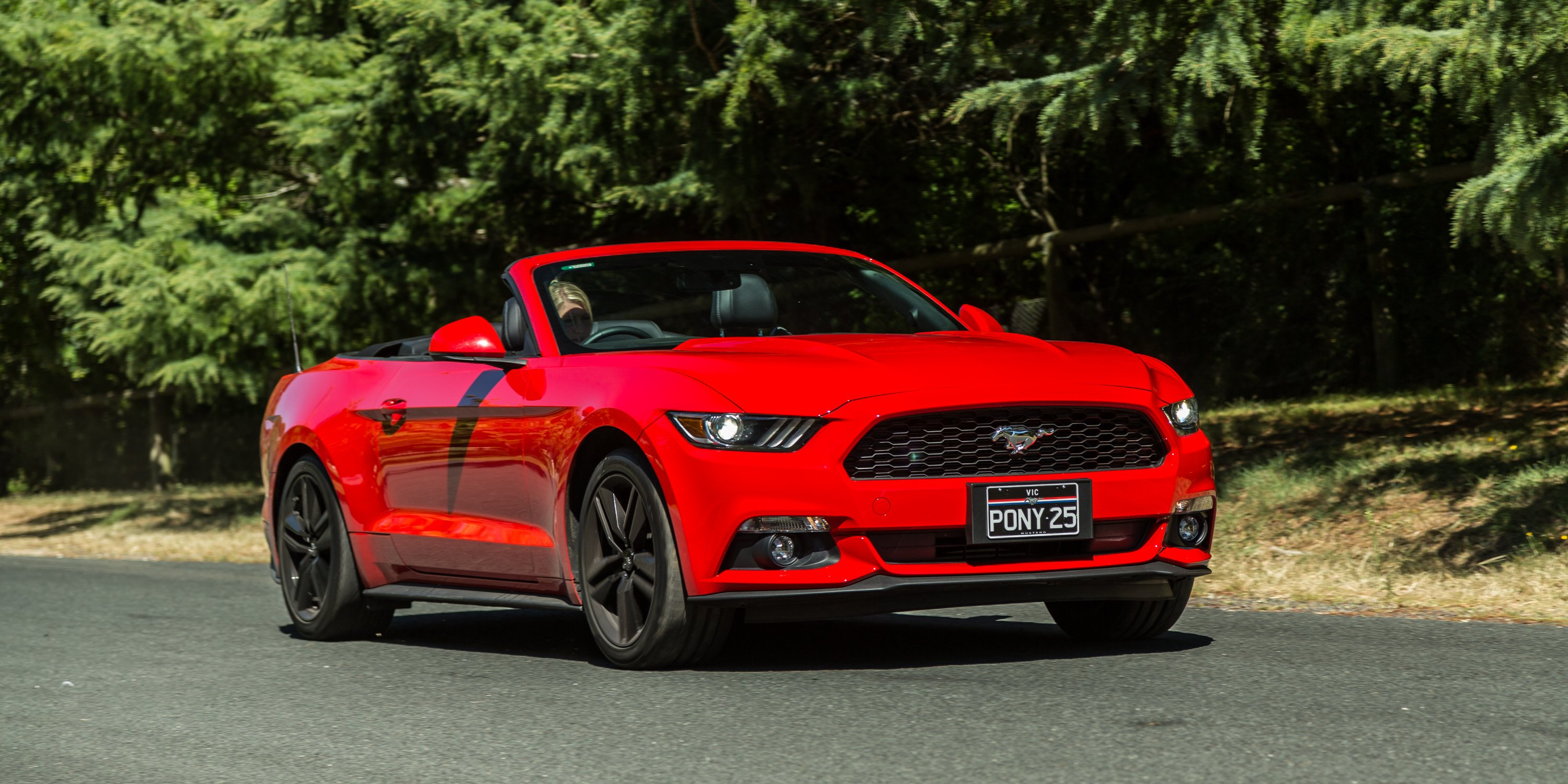 2016 ford mustang ecoboost convertible review photos. Black Bedroom Furniture Sets. Home Design Ideas