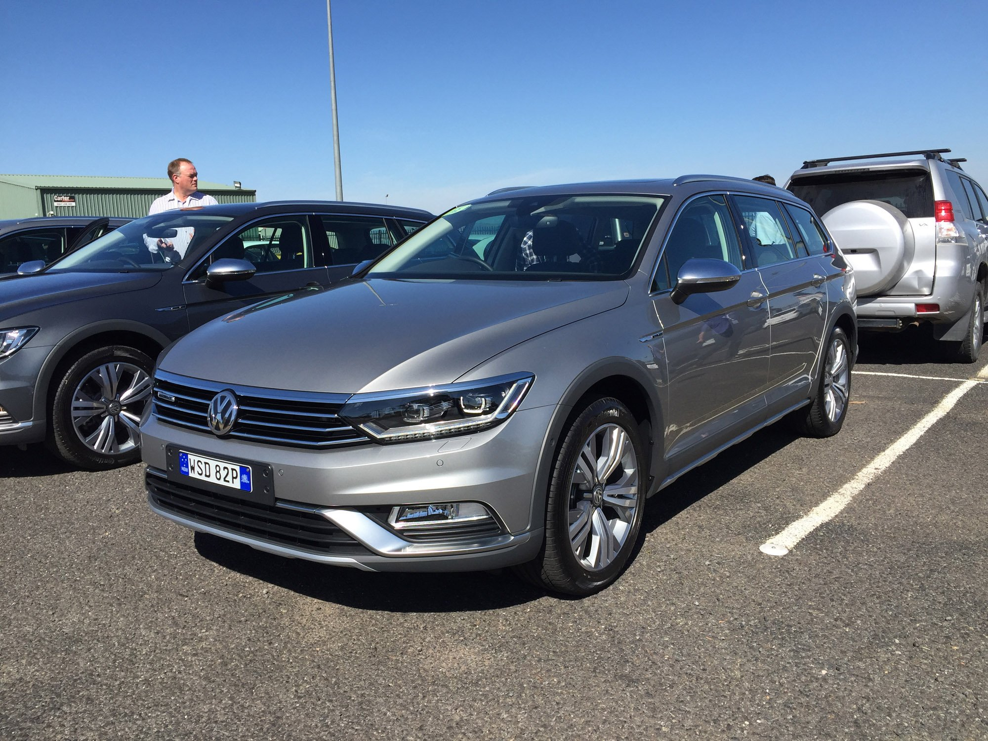 2016 Volkswagen Passat Alltrack Review Photos Caradvice
