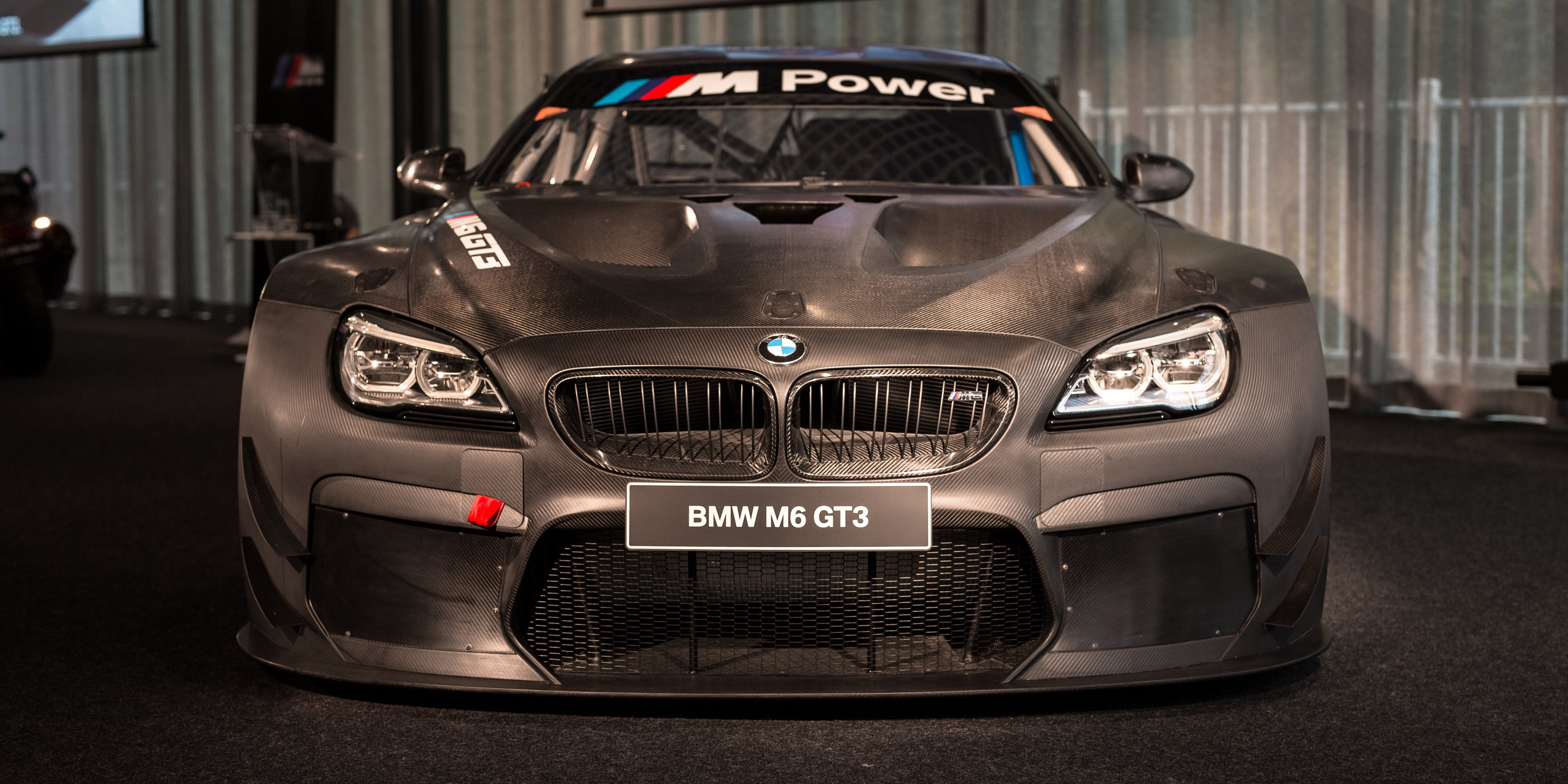 2016 Bmw M6 Gt3 Twin Turbo Racer Unveiled In Melbourne