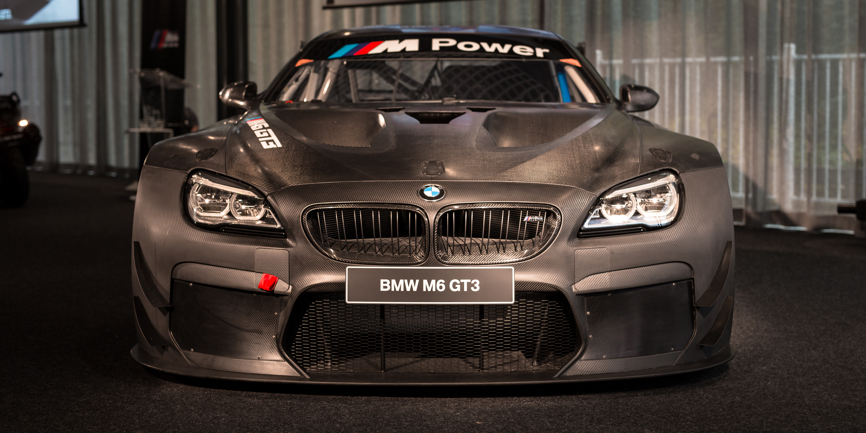 2016 bmw m6 gt3 twin turbo racer unveiled in melbourne ahead of full season assault photos. Black Bedroom Furniture Sets. Home Design Ideas
