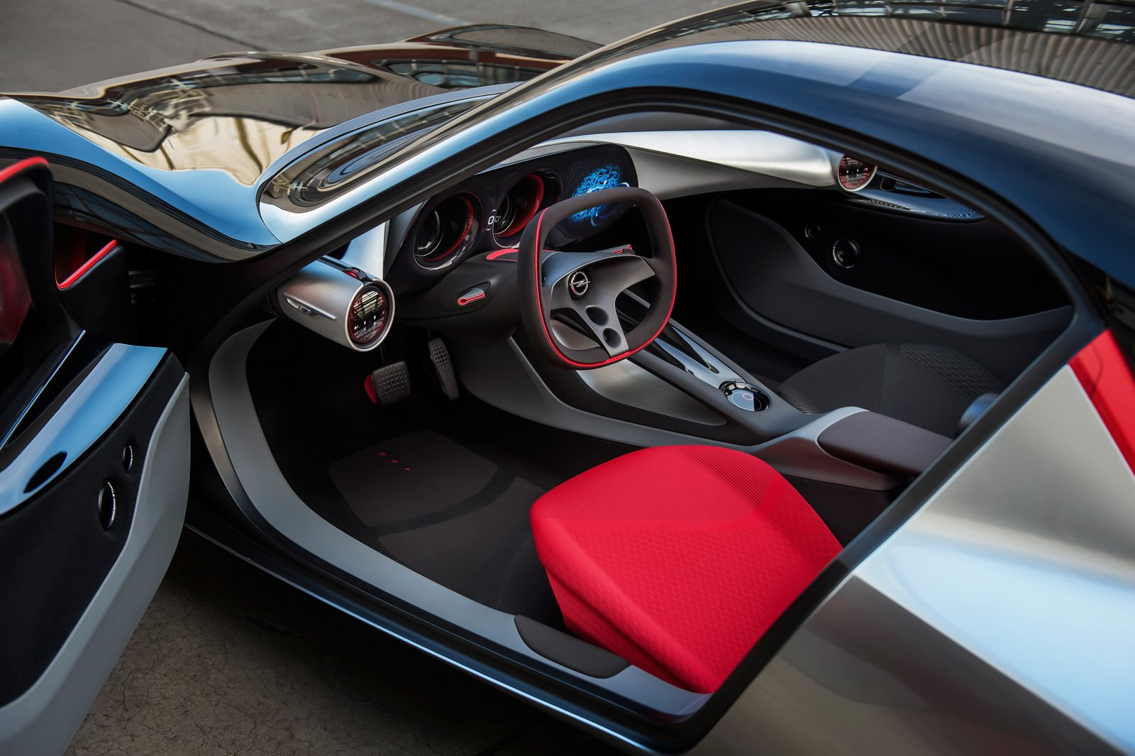 Opel GT concept interior revealed - photos | CarAdvice