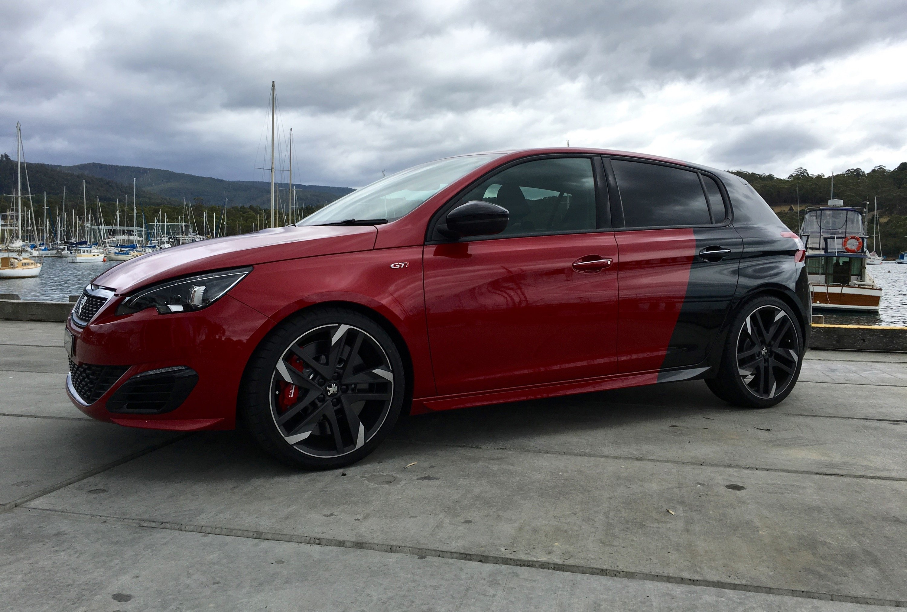 2016 peugeot 308 gti launches in australia photos caradvice. Black Bedroom Furniture Sets. Home Design Ideas