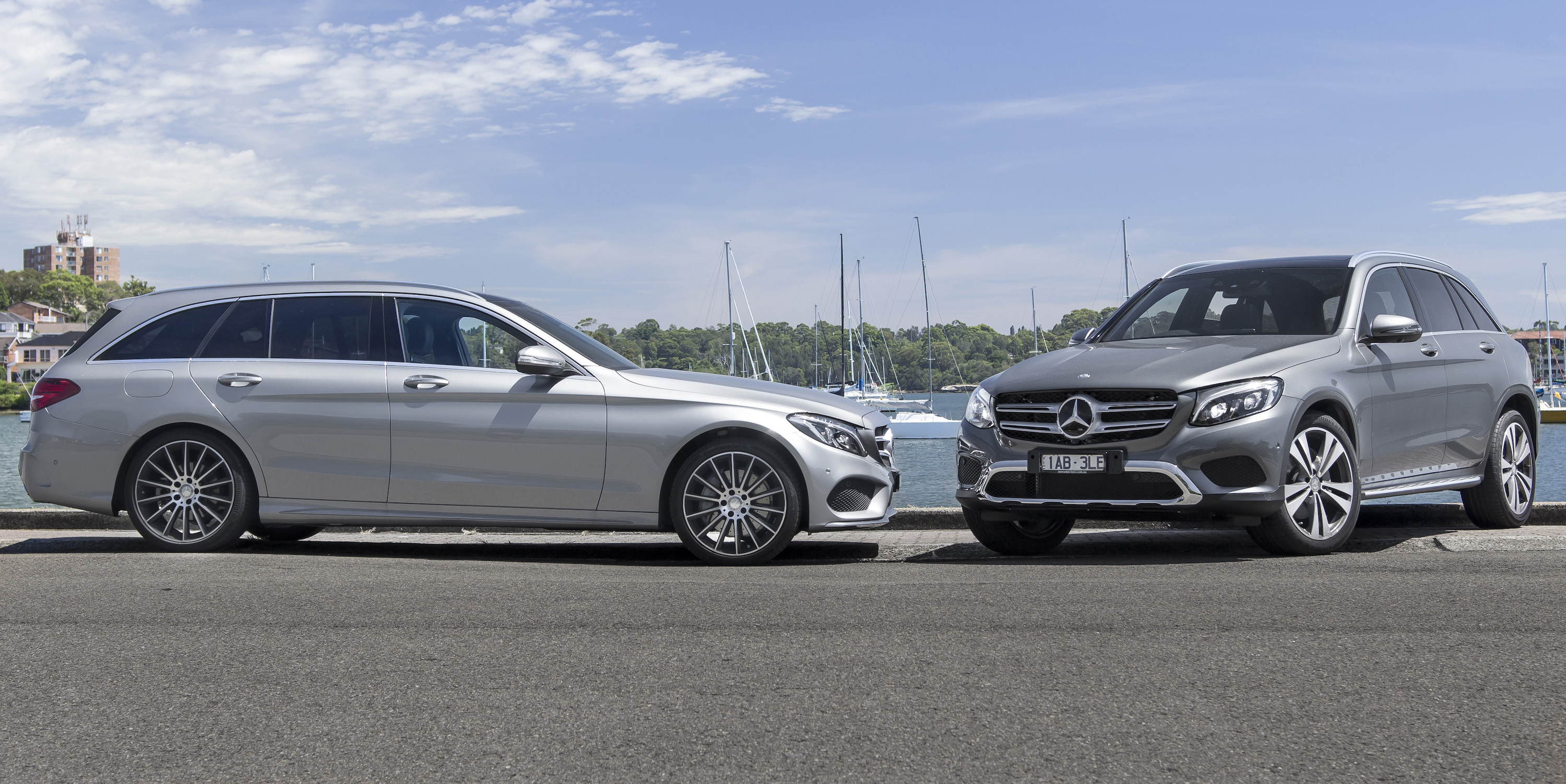 mercedes benz c250d estate v mercedes benz glc250d 4matic