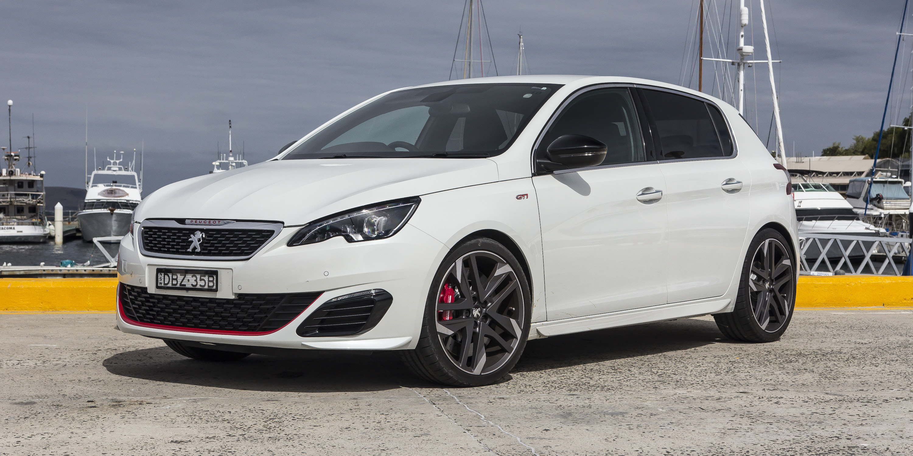 2016 peugeot 308 gti review caradvice. Black Bedroom Furniture Sets. Home Design Ideas