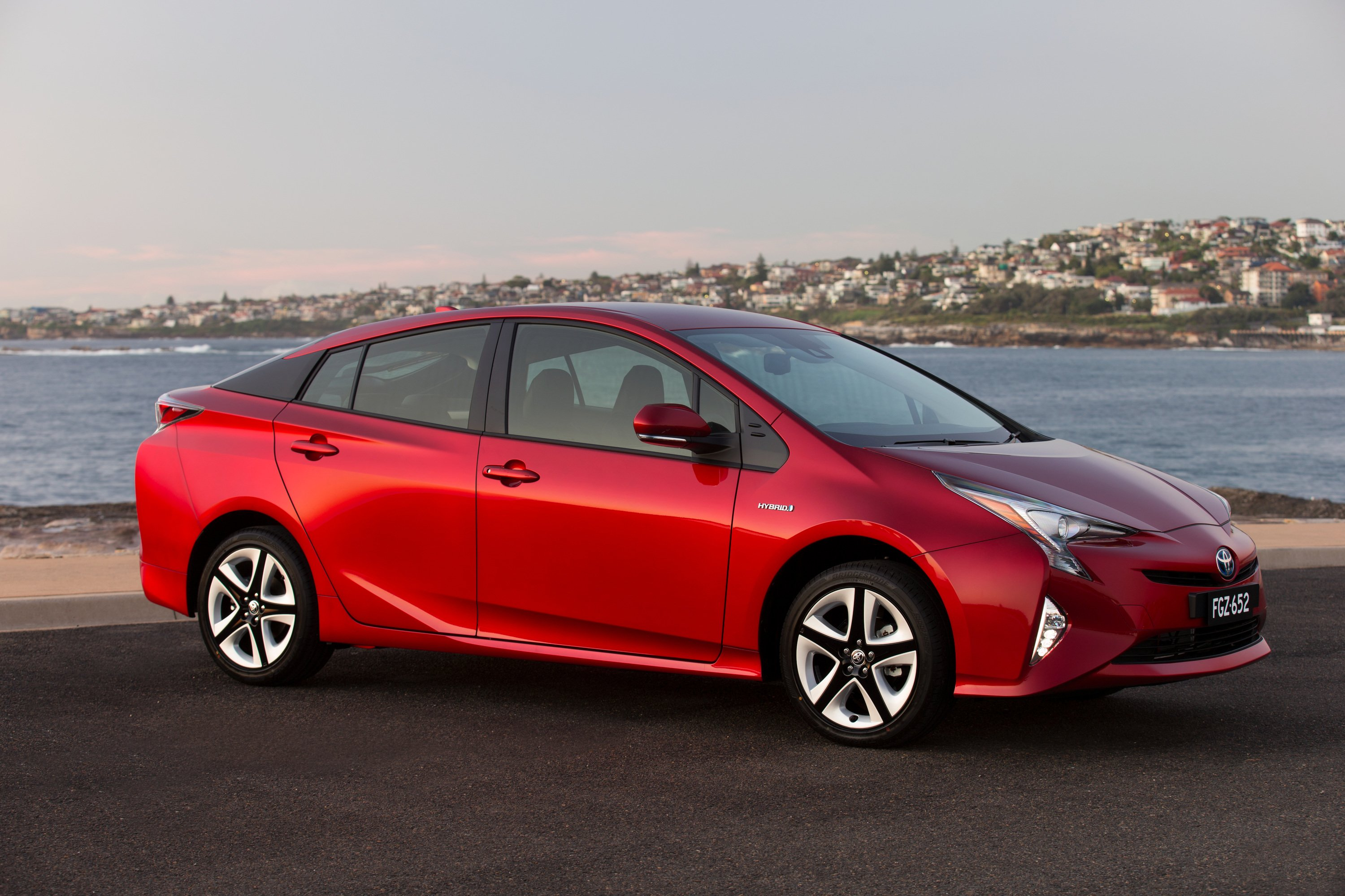 2016 toyota prius review caradvice. Black Bedroom Furniture Sets. Home Design Ideas