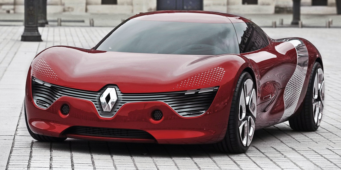 Toyota Supra Top View >> Renault Trezor concept to preview new design direction in Paris - photos | CarAdvice