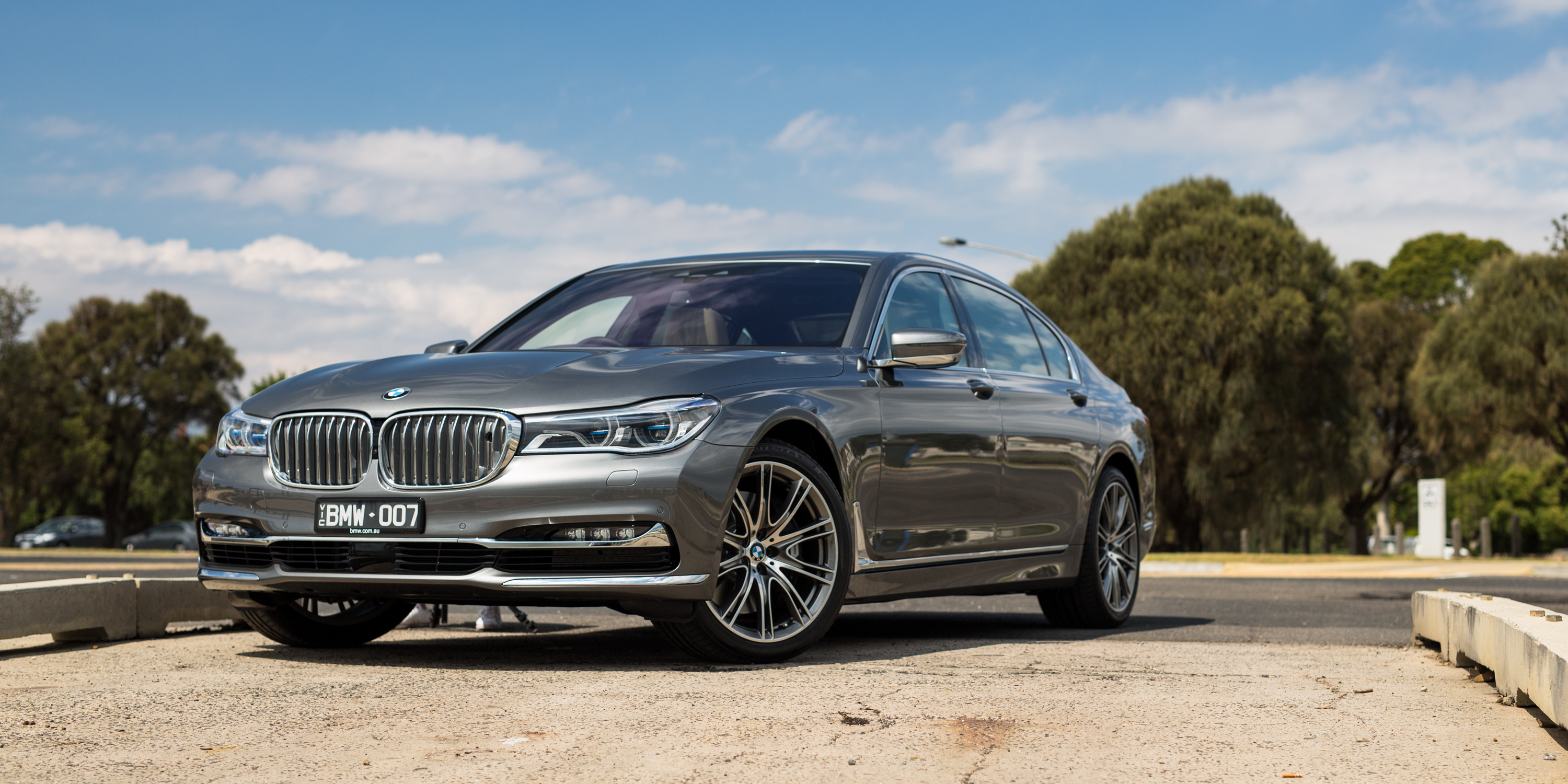 2016 Bmw 750i And 750li Review Photos Caradvice