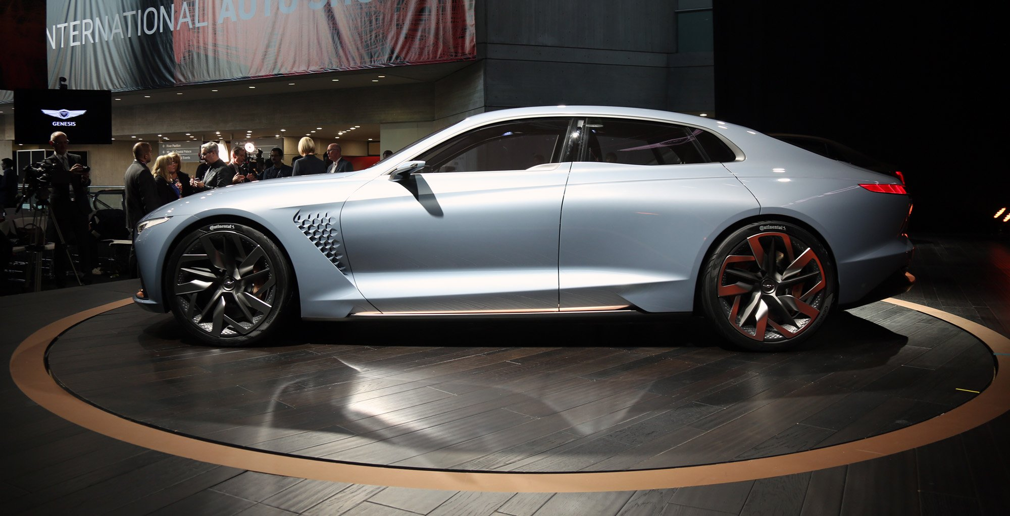 Price Of A Supra >> Genesis New York concept unveiled, previews upcoming G70 - photos | CarAdvice