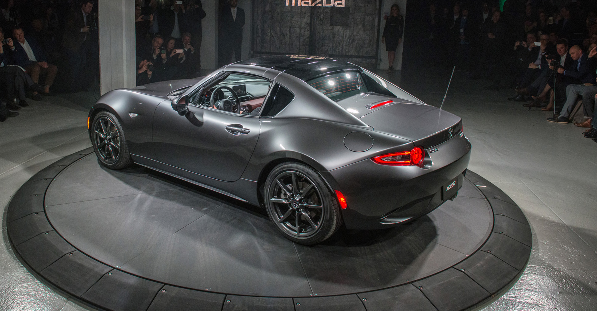 Mazda Mx 5 Rf Hardtop Revealed In New York Photos 1 Of 34