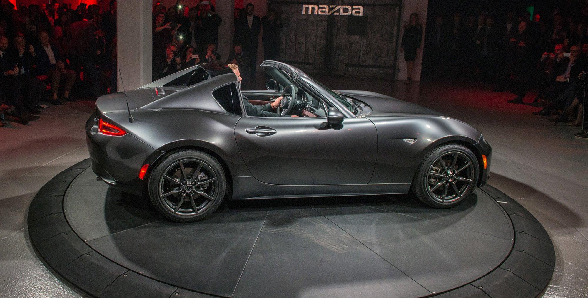Mazda Mx 5 Rf Hardtop Revealed In New York Photos