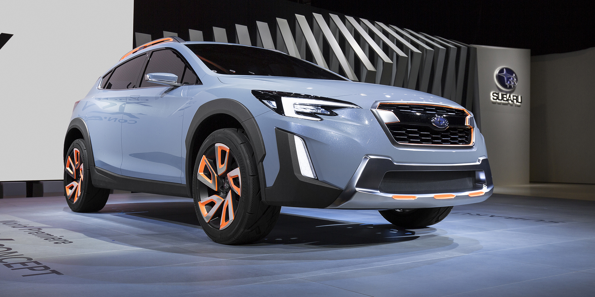 2018 subaru xv previewed in geneva photos caradvice. Black Bedroom Furniture Sets. Home Design Ideas