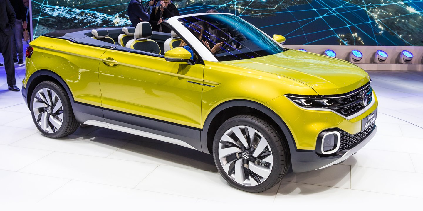 Volkswagen T Cross Breeze Concept Convertible Baby Suv