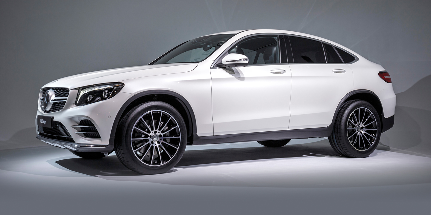 2017 mercedes benz glc coupe amg glc43 coupe revealed for Mercedes benz 2017
