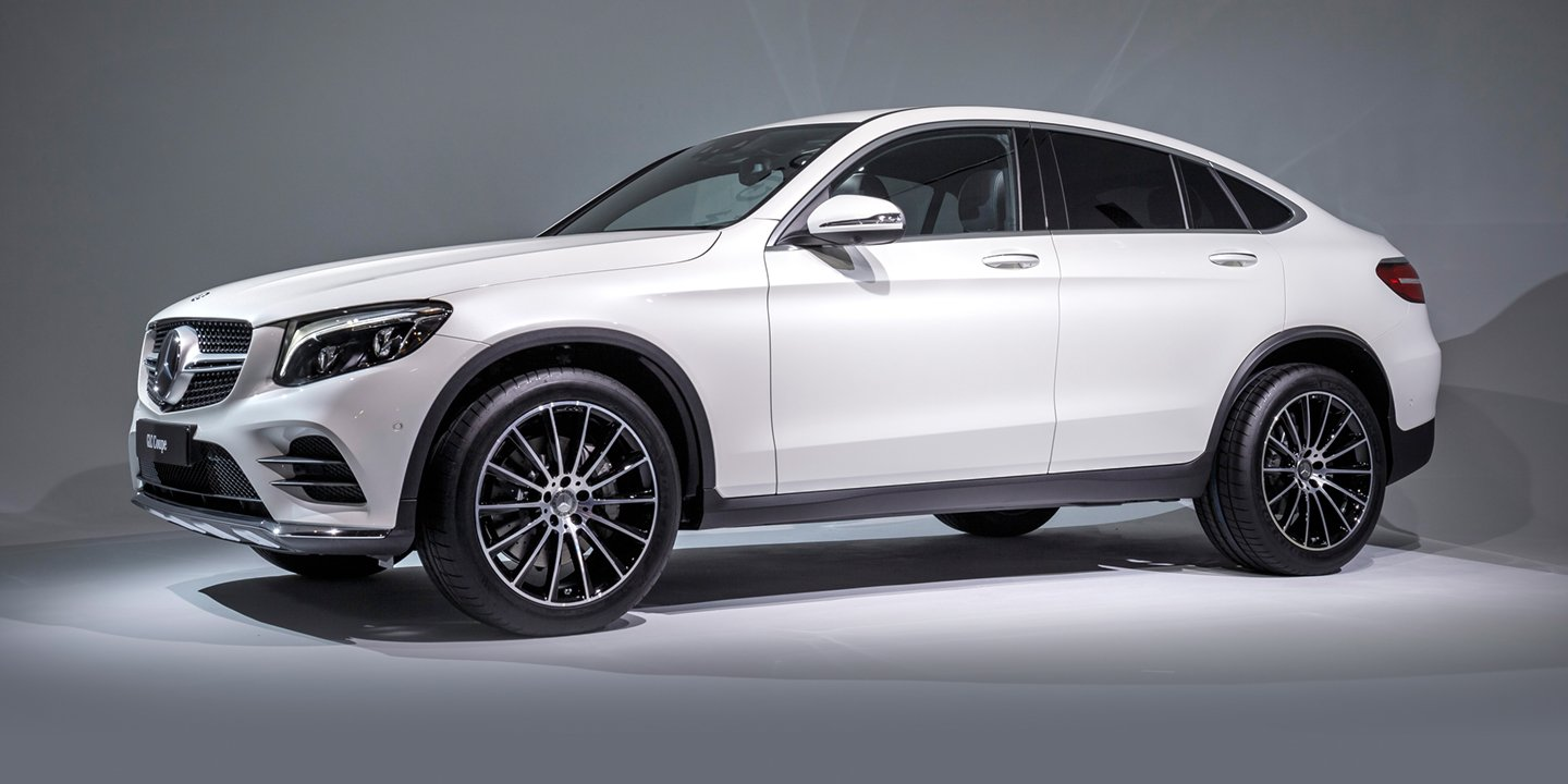Mercedes Amg Coupe 2017 >> 2017 Mercedes-Benz GLC Coupe, AMG GLC43 Coupe revealed: Australian launch due in December ...