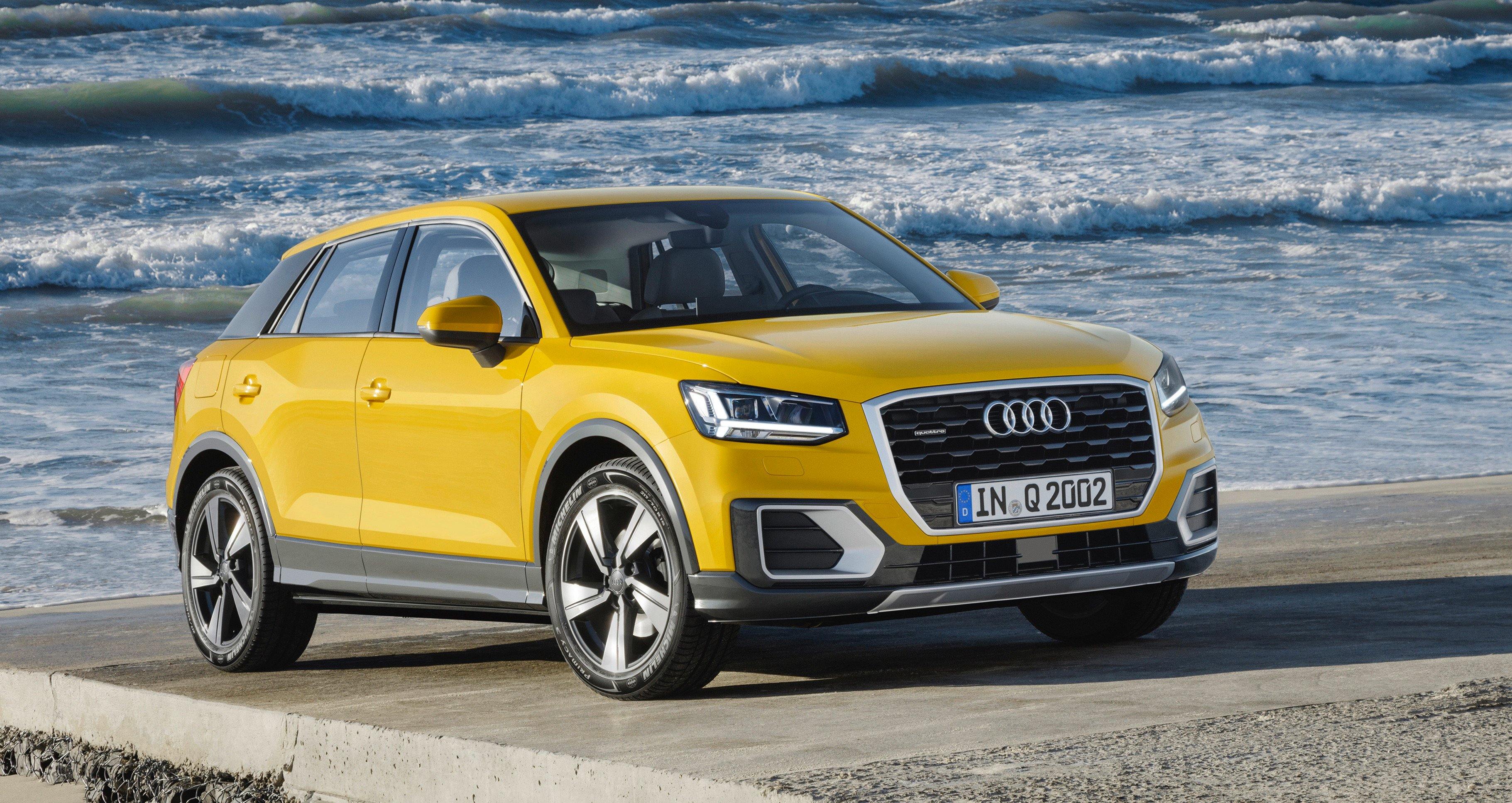 2017 audi q2 revealed australian launch confirmed photos 1 of 16. Black Bedroom Furniture Sets. Home Design Ideas
