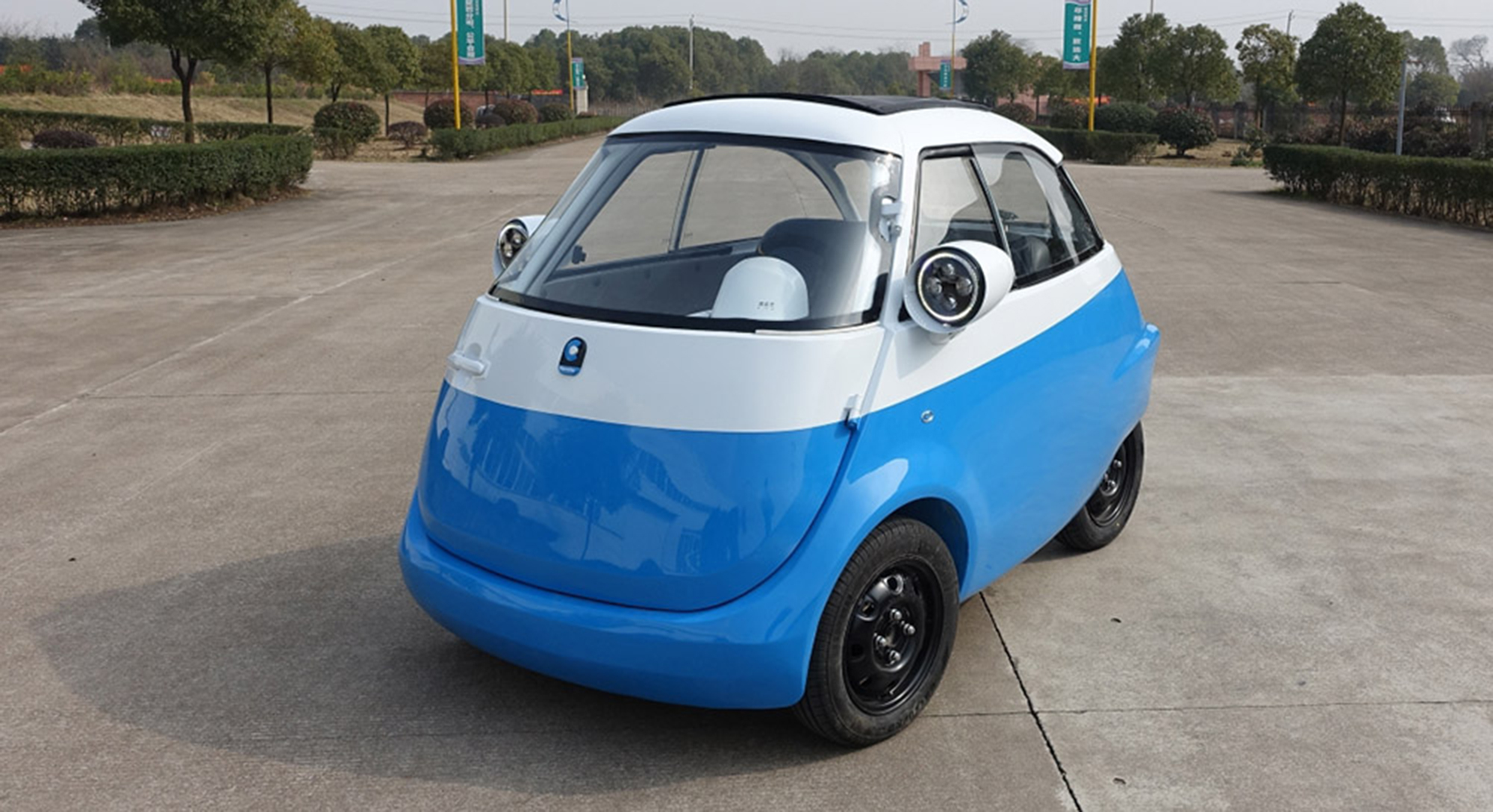 Bmw Isetta Bubble Car Reborn Photos Caradvice