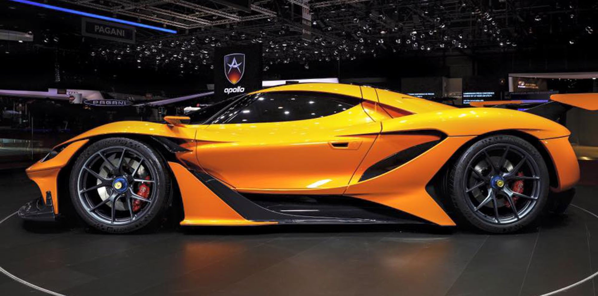 Apollo Arrow supercar: First new supercar from revived ...
